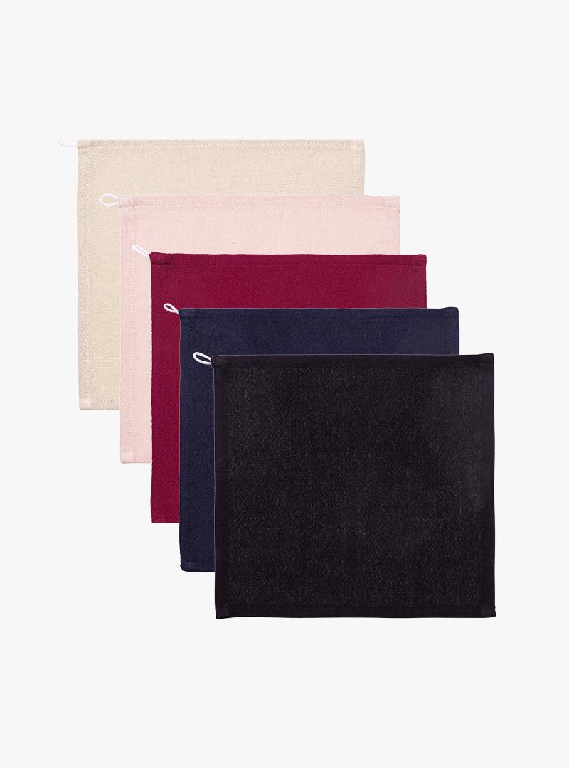 le tablier | quadratische Abtrockentücher in verschiedenen Farben