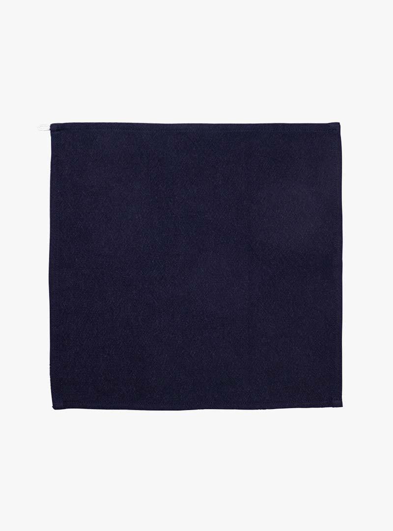 le tablier | navy blaues Abtrockentuch in quadratischer Form