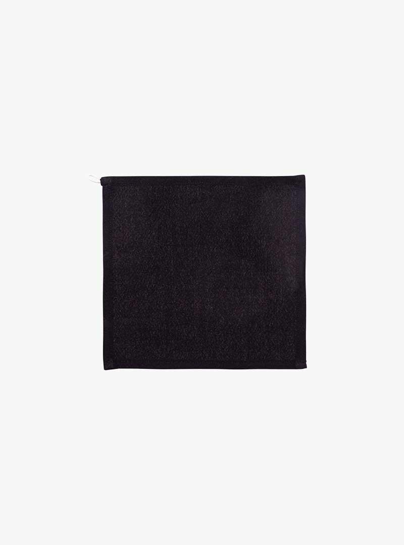 le tablier | quadratisches schwarzes Tuch zum Abtrocknen