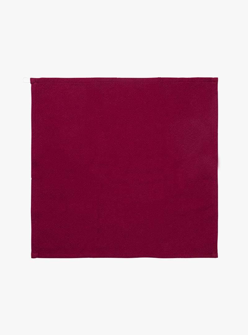 le tablier | quadratisches rotes Abtrockentuch