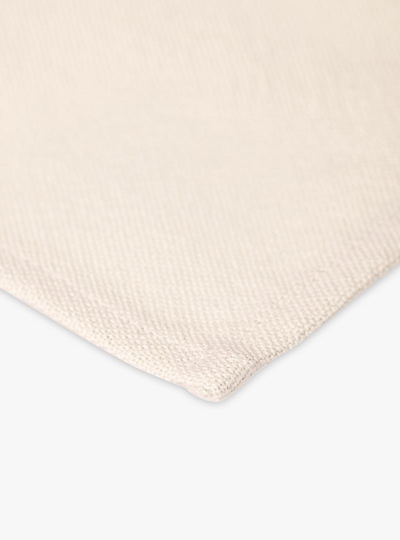 le tablier | beiges Geschirrtuch Nahaufnahme des Stoffs