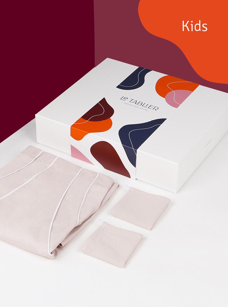 Kinderschürze »Toni le tablier« in exklusiver Geschenkbox
