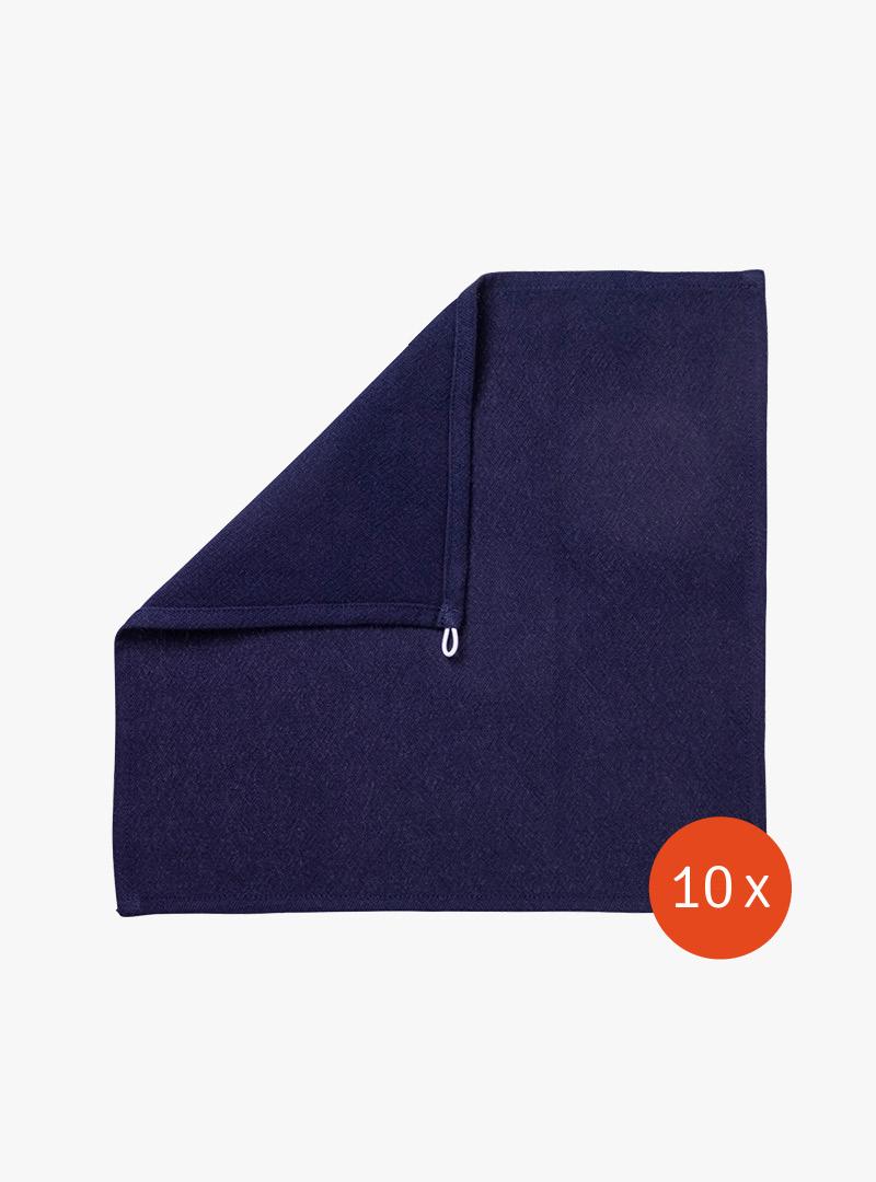le tablier | navy blaues Abtrockentuch